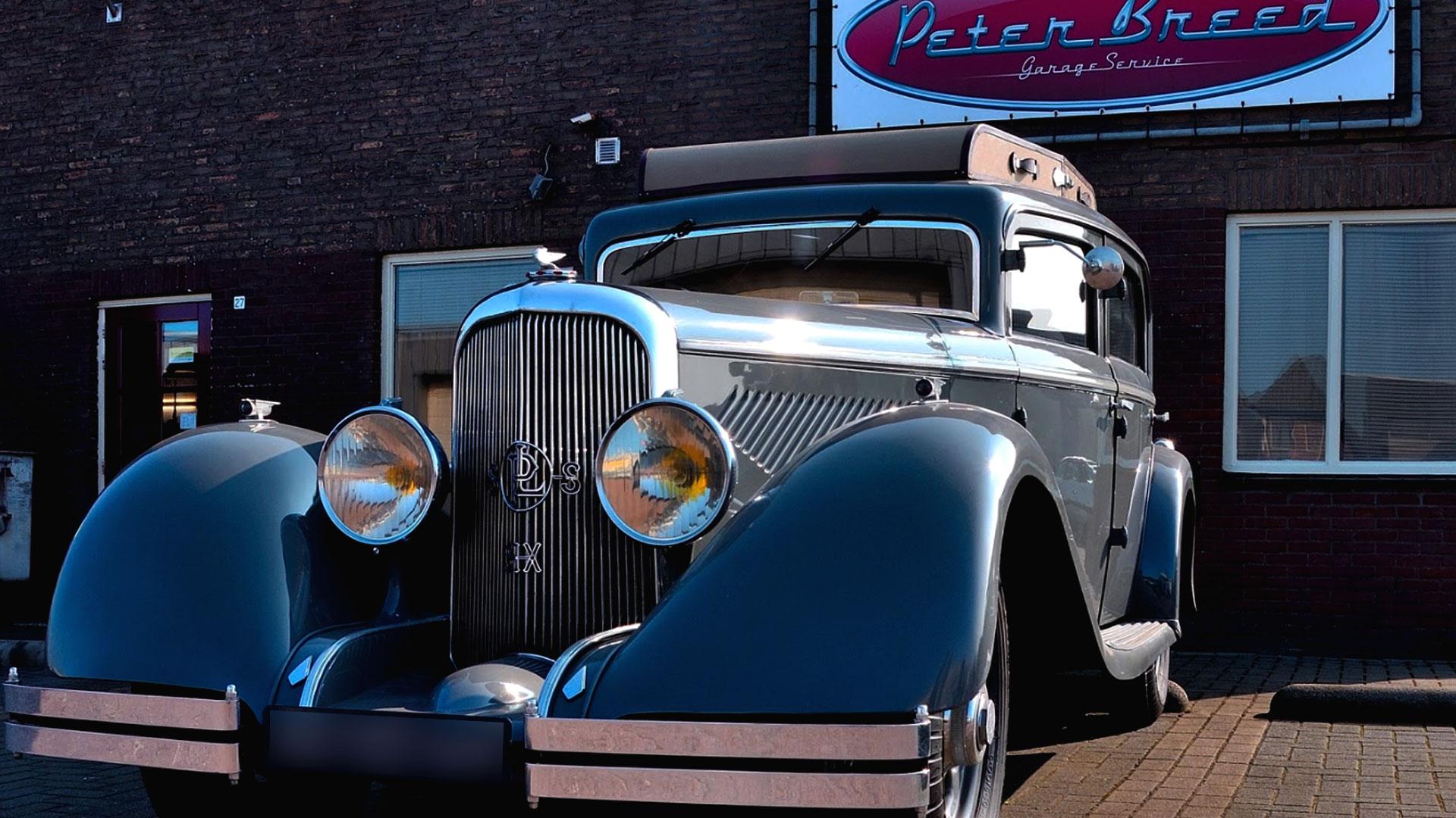 Panhard Levassor van Peter Breed Garageservice