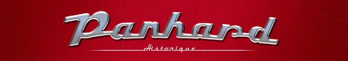 Header van Panhard Historique